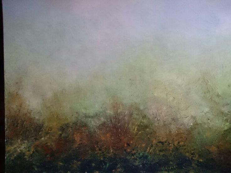 Autumn impression,oil on canvas, 80/100, 2015.