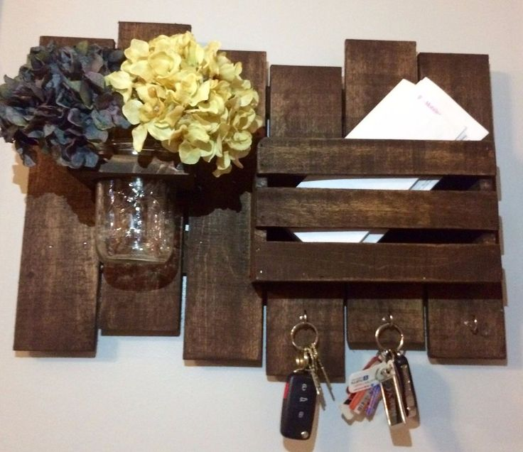 Rustic Mail Organizer...perfect for the country!