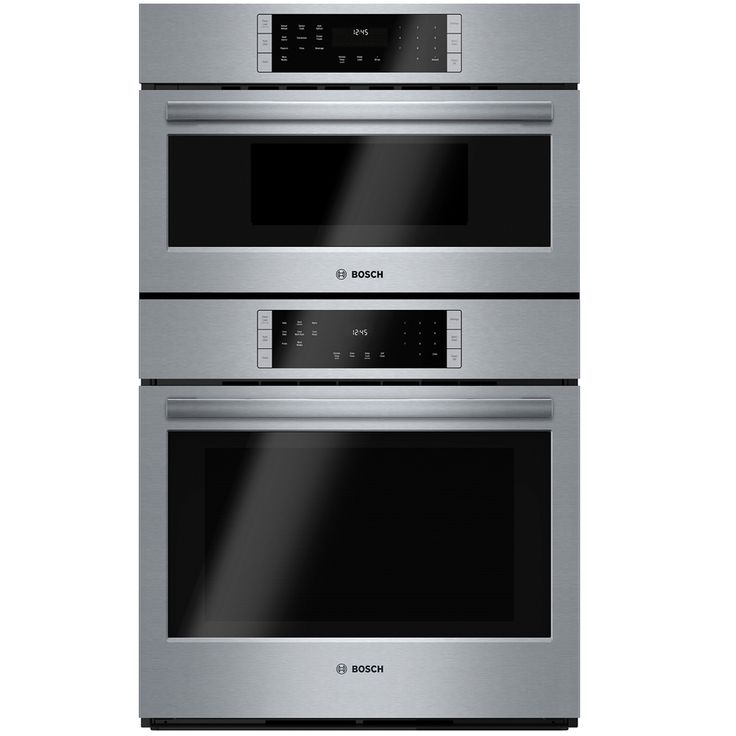 Shop Bosch Self-Cleaning Convection Microwave Wall Oven Combo (Steel-Stainless) (Common: 30-in; Actual 29.75-in) at Lowes.com