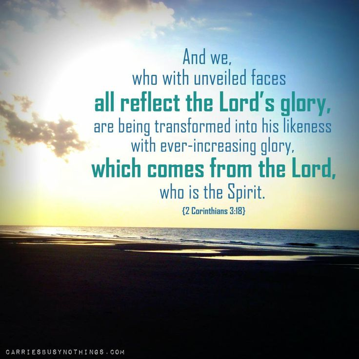Image Result For 2 Corinthians 3 18