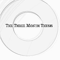 three month thesis youtube A five-paragraph essay is a prose composition that follows a prescribed format of an introductory paragraph, three body paragraphs, and a concluding paragraph, and is typically taught during primary english education and applied on standardized testing throughout schooling.
