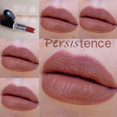 MAC Matte lipstick Persistence