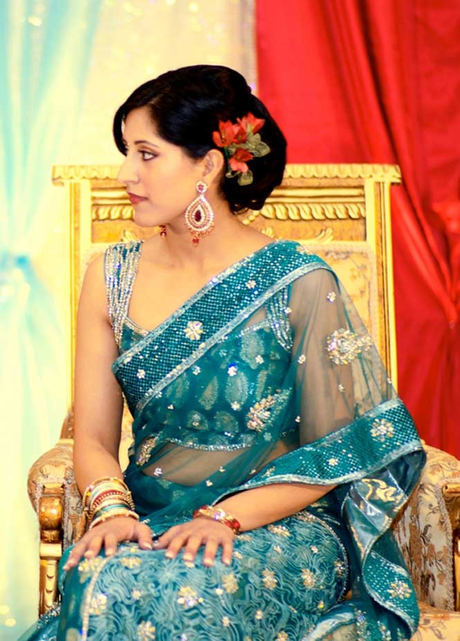 great Indian sari