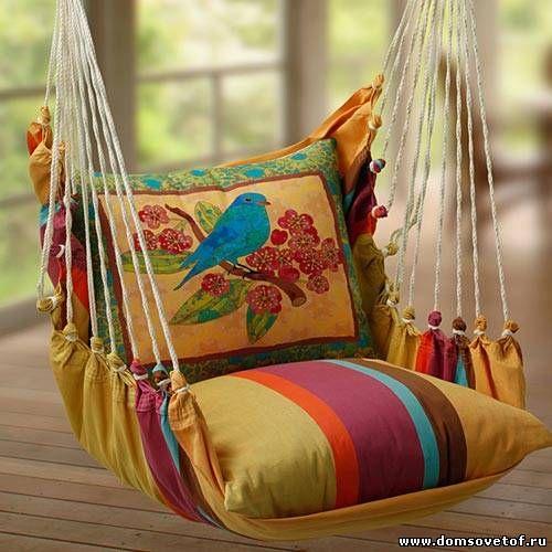 Кресло – гамак своими руками