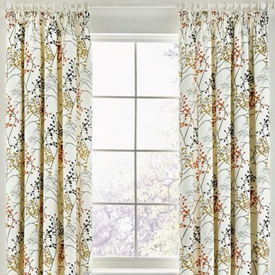 Sanderson Multicoloured cotton sateen 'Pippin' lined curtains   Debenhams