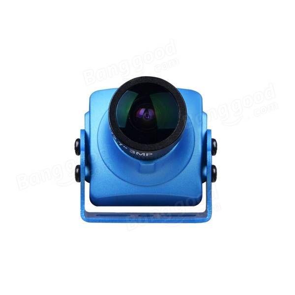 Foxeer Monster V2 1200TVL 1/3 CMOS 16: 9 PAL / NTSC IR Block FPV Kamera mit OSD und Audio