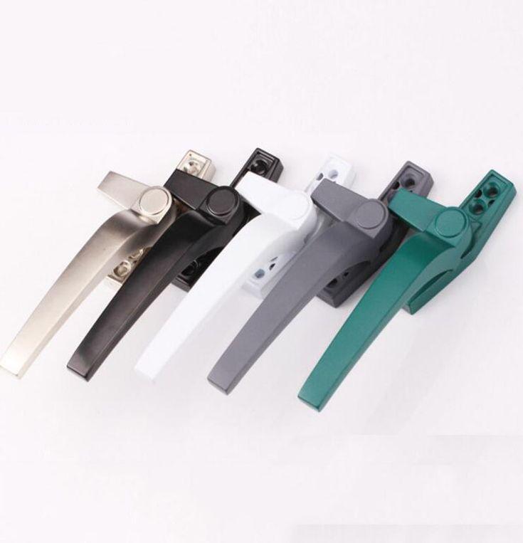 Finestra in alluminio maniglie di blocco/finestre A Battente scorrevole porte maniglia destra o sinistra x2