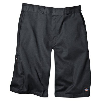 Dickies Men's Loose Fit Twill 13 Multi-Pocket Work Shorts- Charcoal (Grey) 29
