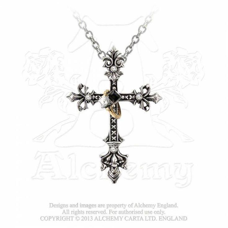 Kette mit Anhänger - Maryam Theotokos Ring Cross | VOODOOMANIACS