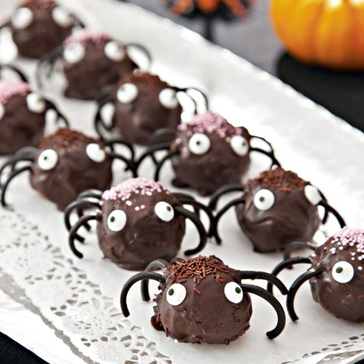 Här hittar du våra bästa recept för halloween- eller spökfesten!