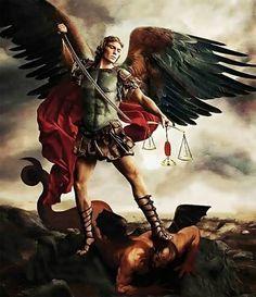San Miguel Arcángel vence al demonio