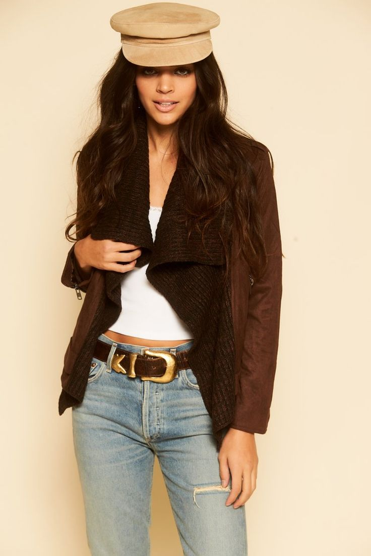 Uptown Streets Brown Suede Jacket - #12thtribe #newarrivals #shop12thtribe