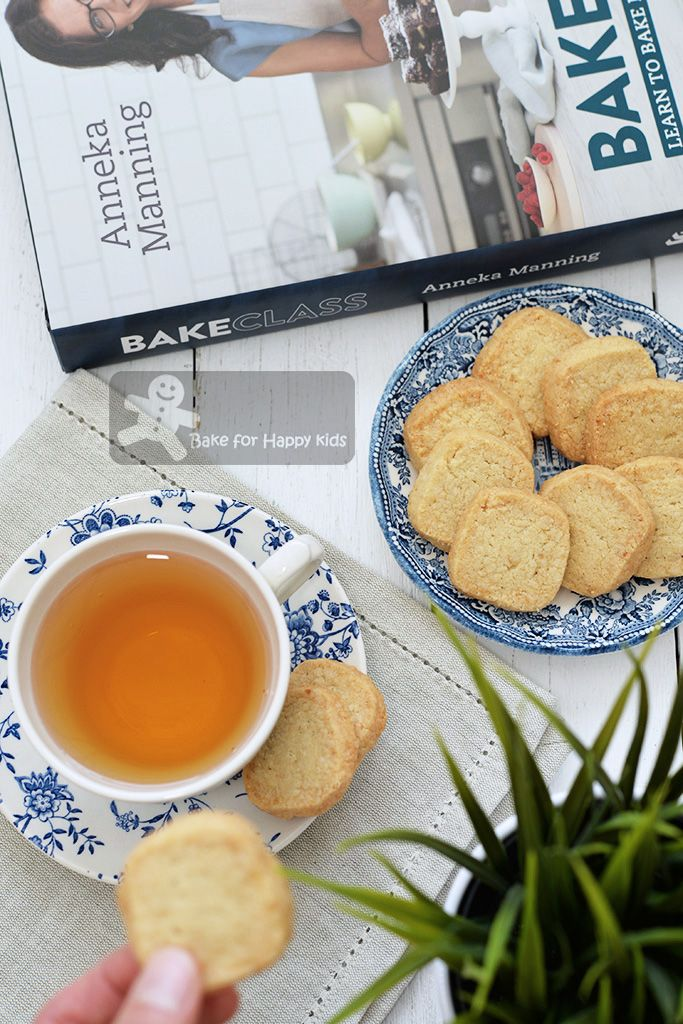 quick easy almond shortbread Anneka Manning