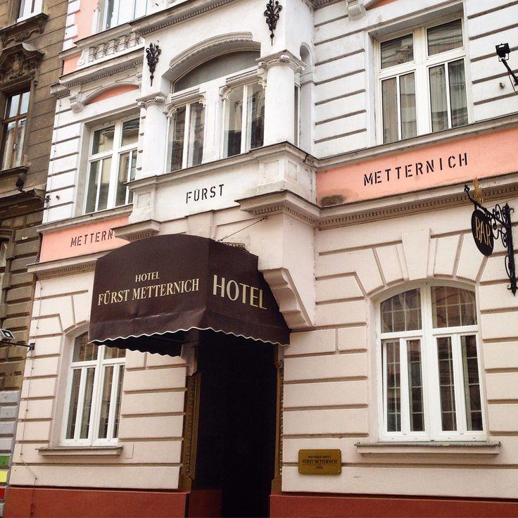 HOTEL FURST METTERNICH  Vienna  VERY GOOD CHOICE