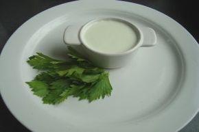 Preparar mayonesa de apio