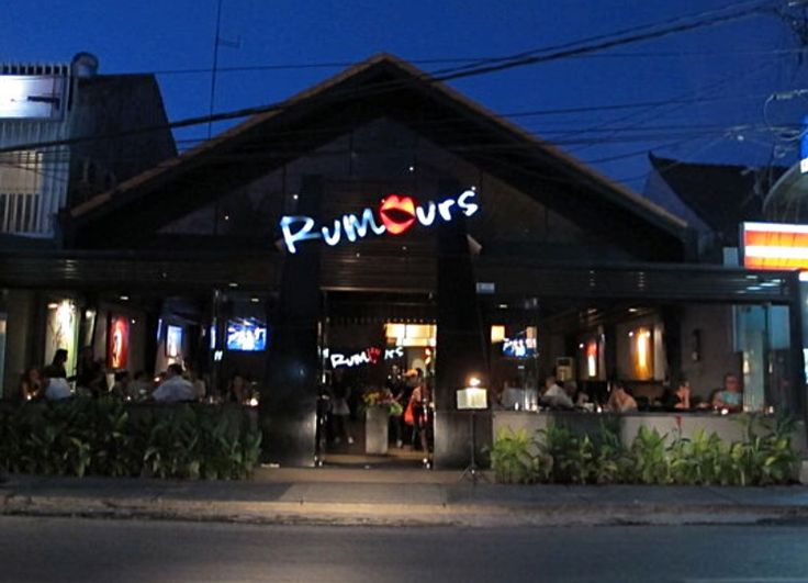 Seminyak, Bali - Bars: Rumour's, Jl Kayu Aya (5min walk)