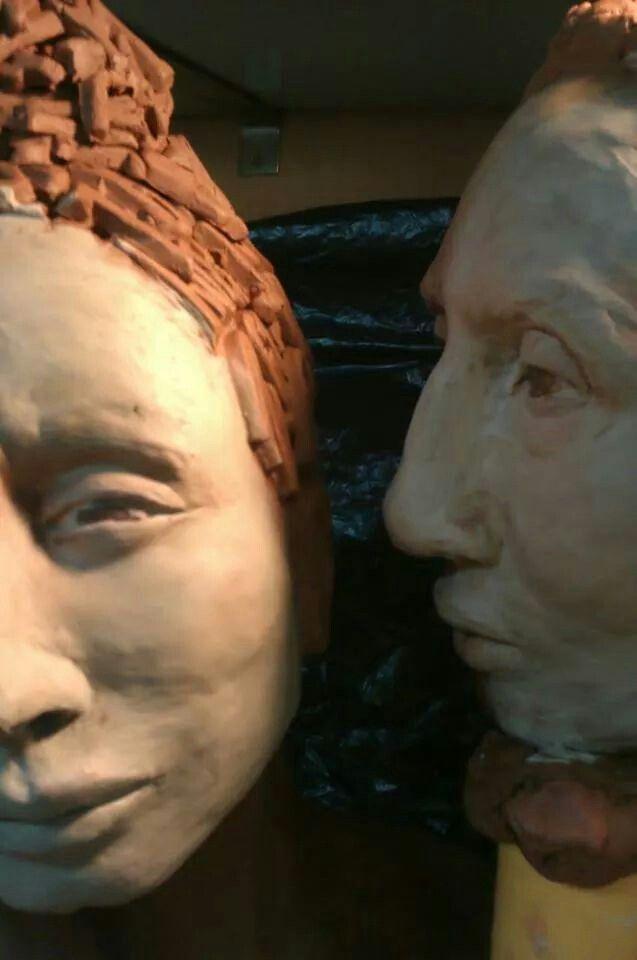 Mujer y hombre