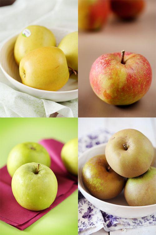 Il y aurait plus de 6000 (peut-être même plus de 7000) variétés de pommes ! C'est quand même énorme quand on voit qu'on en connait finalement qu'une dizain