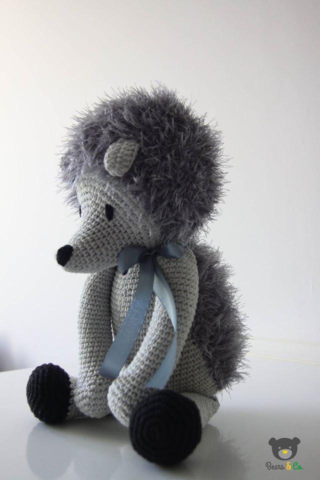 crochet hedgehog  Bears & Co.
