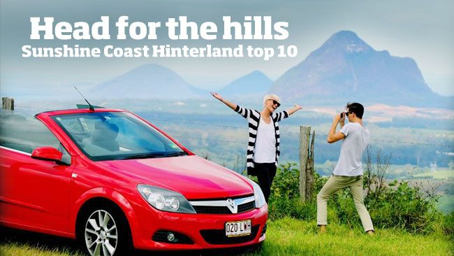 Whether it be shops, galleries, eateries, wine or magnificent vistas, the Sunshine Coast Hinterland has something for everyone. Here are 10 top places to visit.