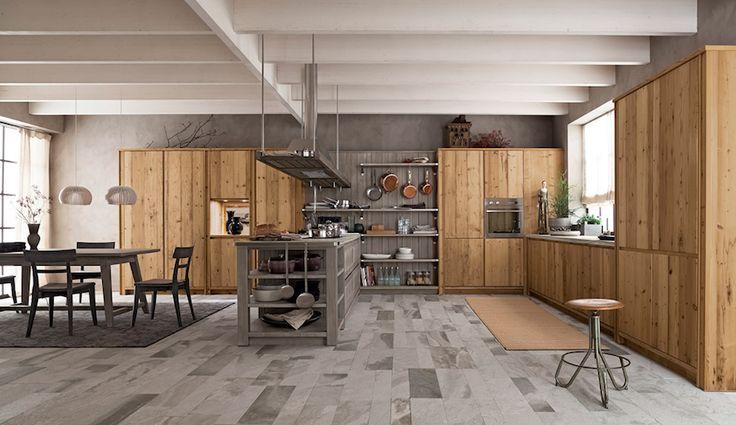 Amate l'#arredamento in #legno? Allora date un'occhiata a queste cucine @scandolamobili