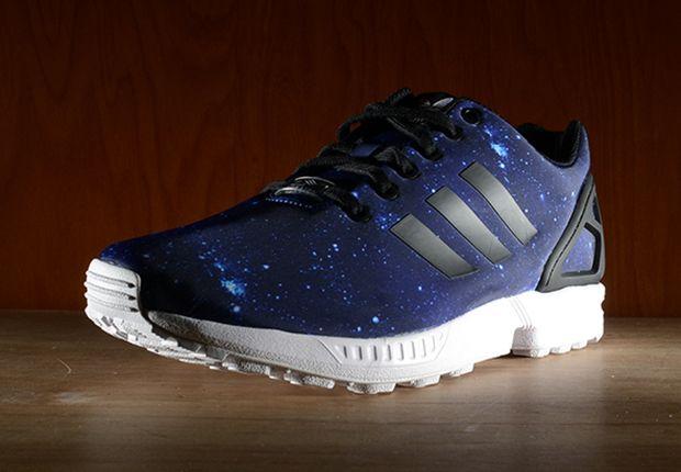 Adidas Zx Flux Blue Galaxy