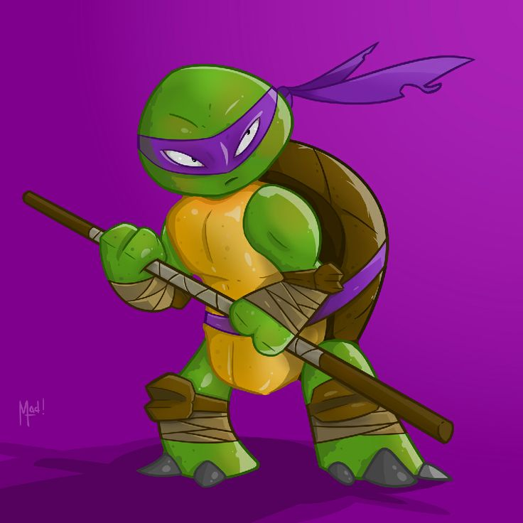 TMNT Donatello Fan Art by Made Wirawan  http://madewirawan.com/