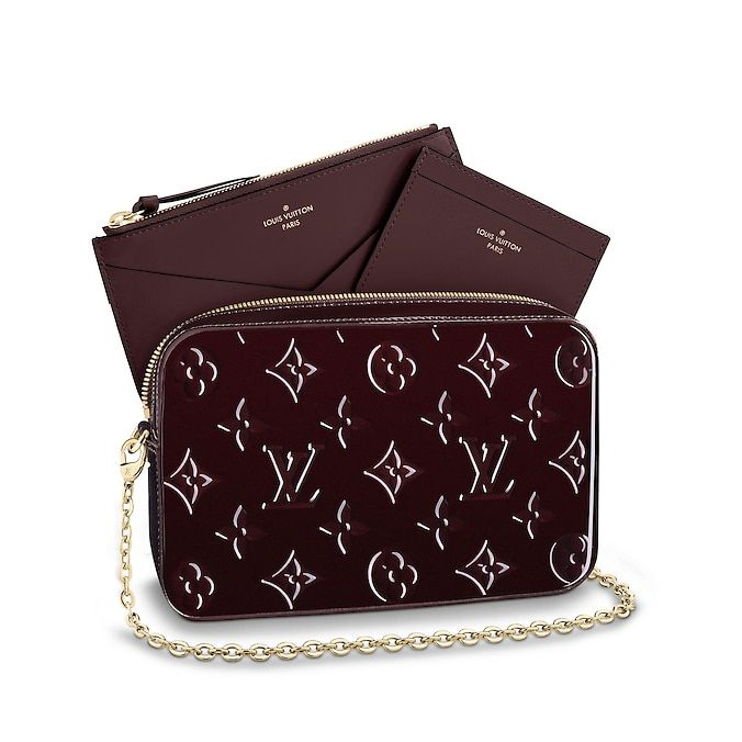 44363b24c71e View 5 - Women - Camera Pouch Monogram Vernis Leather Women Small Leather  Goods Wallets