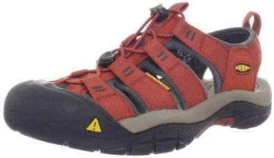 KEEN Men's Newport H2 Sandal, Burnt Henna/Dark Shadow, 11.5 M US Keen. $100.00