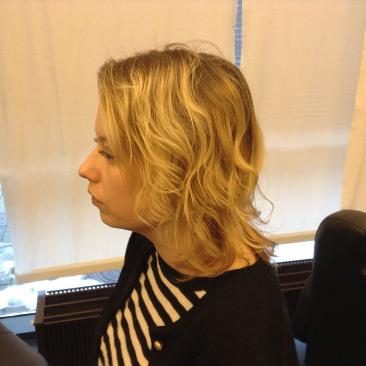 La cordier blond highlights vapaalla kädellä liukuvärjäys