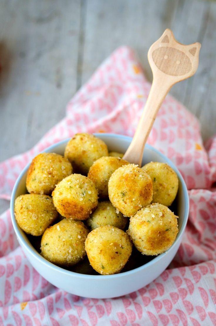 {Rezept} Vegane Hirse-Kartoffel-Bällchen