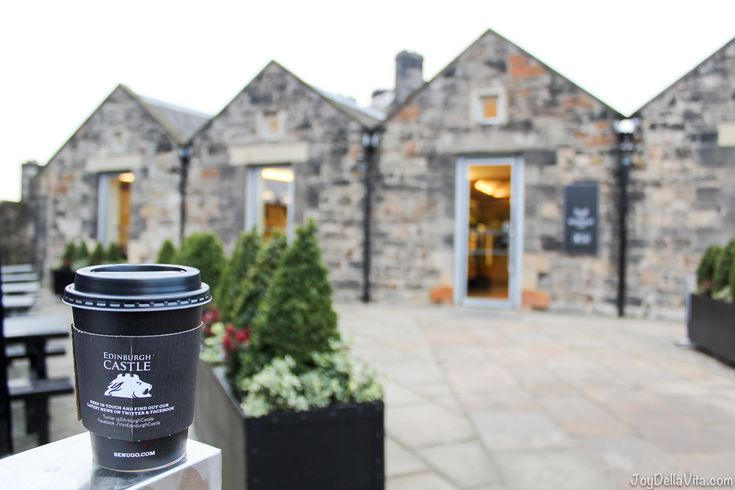 Red Coat Cafe at Edinburgh Castle - Joy Della Vita Travelblog