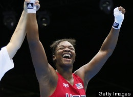 American teenager 17-year-old Claressa Shields wins Gold in women's boxing Middleweight final