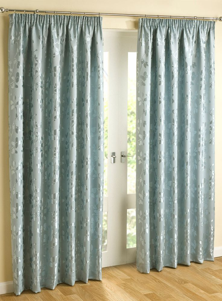 Alice Pencil Pleat Curtain - Duck Egg - curtains & accessories - Home, Lighting & Furniture - BHS