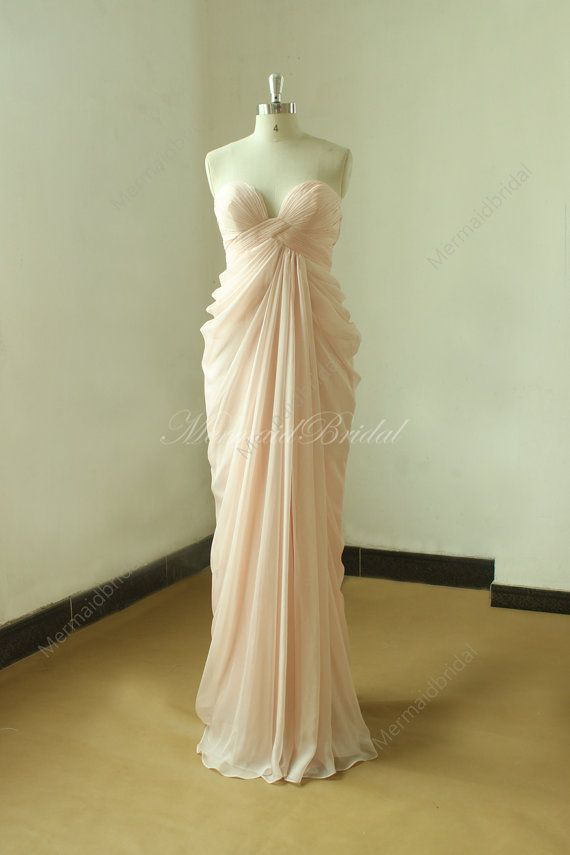 Hey, I found this really awesome Etsy listing at https://www.etsy.com/listing/208453530/pale-pink-sexy-bridesmaid-dress-prom