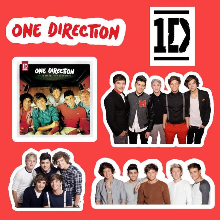 One Direction Sticker Pack Etsy In 2021 Stickers Packs One Direction Print Stickers
