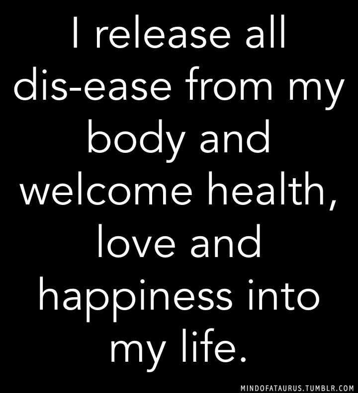 mindofataurus:  2014 is the year of affirmation. Take the time to affirm the aspects of your life you want to attract, develop or transform. I release all dis-ease from my body and welcome health, love and happiness into my life.  More affirmations here.