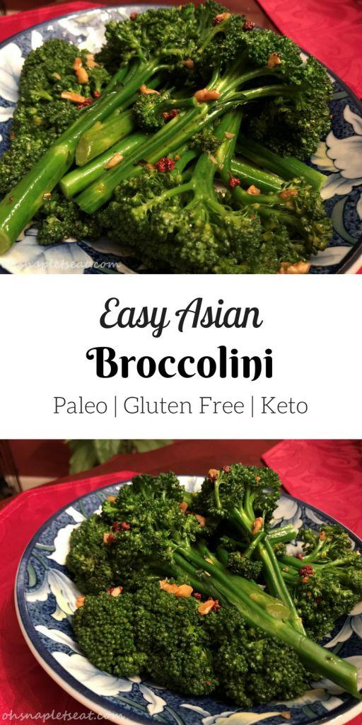 Easy Asian Broccolini