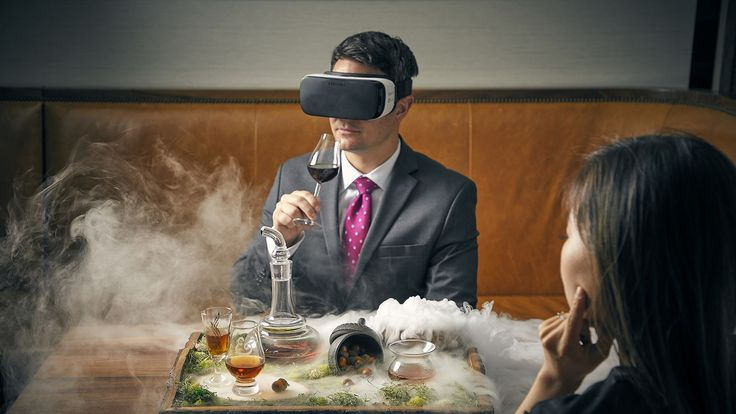 Chicago Restaurant Launches $95 Virtual Reality Scotch Cocktail Using Oculus Headset