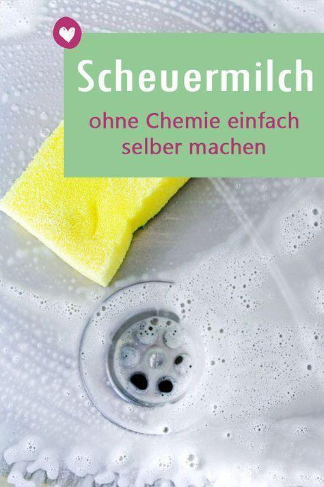 Scheuermilch selber machen: So geht es