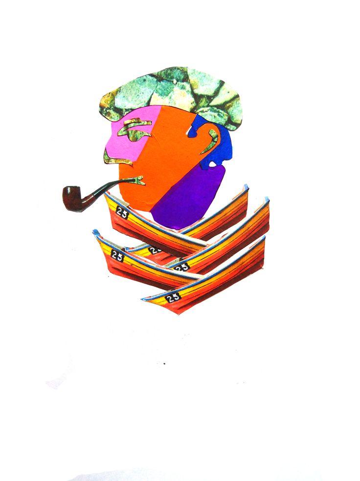 Objetos más papel volantín. Pablo Neruda
