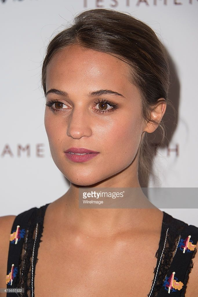 Actress Alicia Vikander attends the 'Testament Of Youth' New York Premiere at Chelsea Bow Tie Cinemas on June 2, 2015 in New York City.