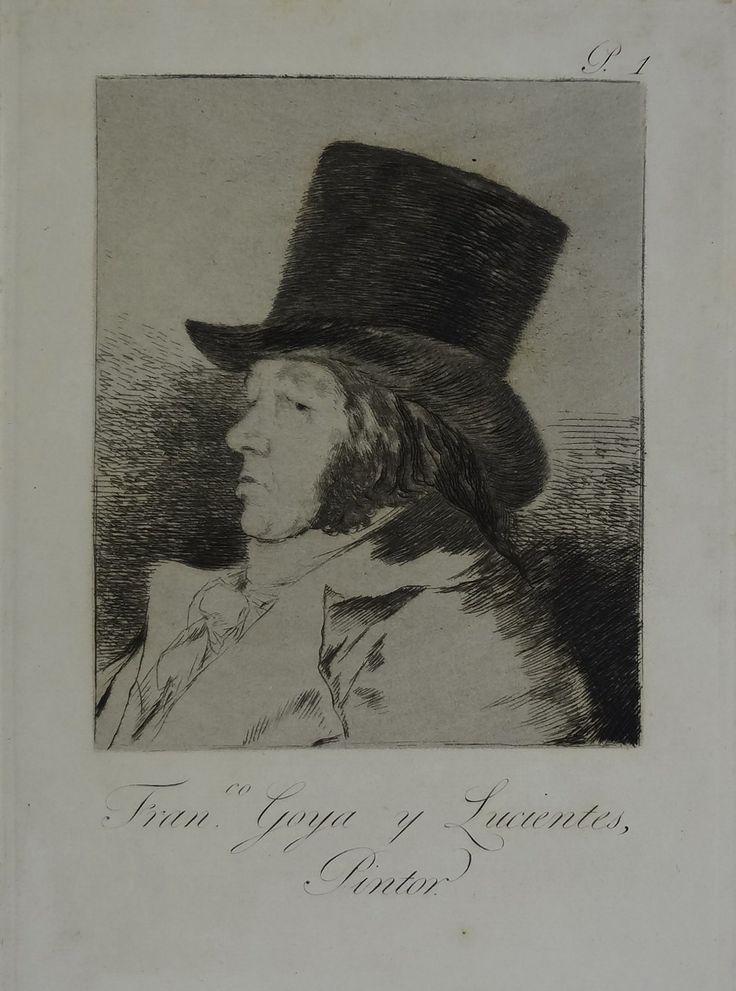 Francisco de Goya, Los caprichos. Colección de 80 estampas, Entre 1905 y 1907. Grabados.