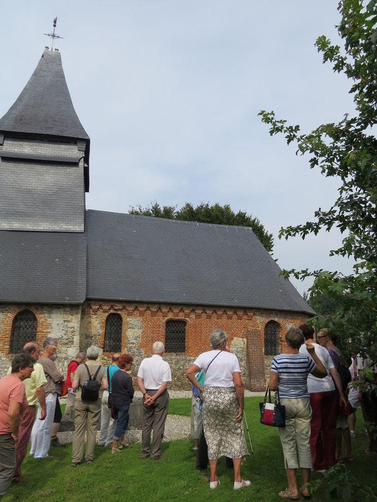 Visite commentée de l'église de Criquetot sur Longueville  - A la découverte des églises de nos villages 2015