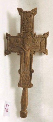 Cruce de mână - Muzeul Naţional al Ţăranului Român - BUCUREŞTI (Patrimoniul Cultural National Mobil din Romania. Ordin de clasare: 2672/09.10.2014 - Tezaur)