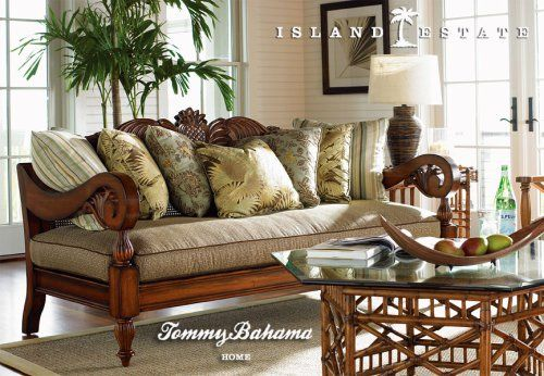 Wow, I DO love this sofa...  minus a bunch of those pillows...         Tommy Bahama