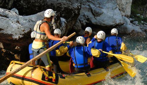 Add a Canadian Rockies White Water Rafting adventure to your stay at Solara Resort & Spa.