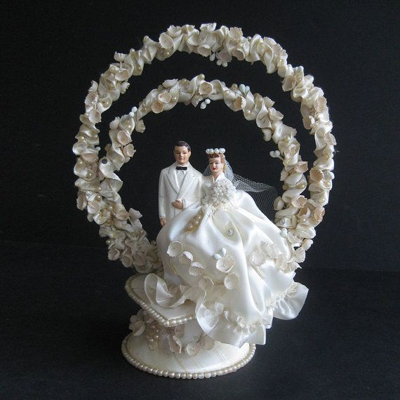 Wedding Cake Toppers Vintage: 168 Best Images About Vintage Cake Toppers On Pinterest