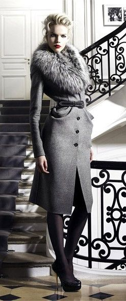 Dior - love the coat