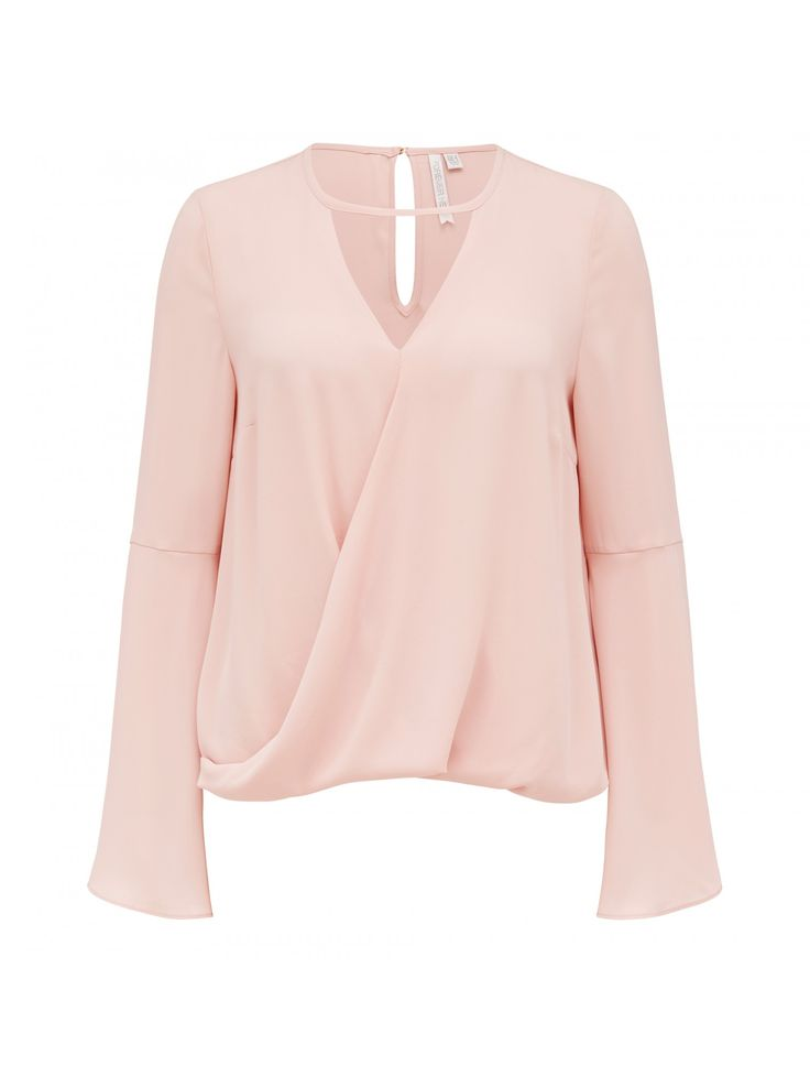 Discover a new wardrobe favourite and channel chic sophistication with our Marcia Bar Wrap Blouse, sure to see you transition effortlessly from day to night.